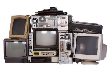 Bild alte Elektrogeräte
