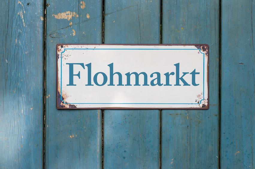 Flohmarkt Bild