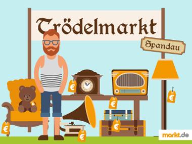 Grafik Trödelmarkt Spandau