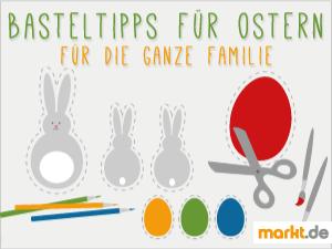 Grafik Basteltipps Ostern