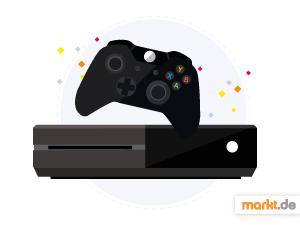Grafik Xbox One Konsole und Controller