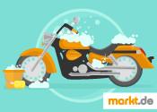 Bild Motorradwäsche