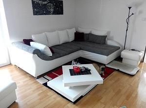 die wohnung stilvoll einrichten - tipps für wohnzimmergestaltung, Modern haus